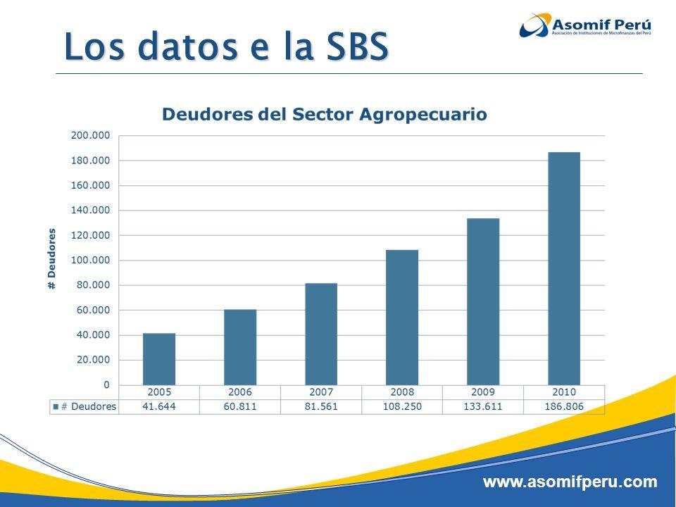 www.asomifperu.com La situación actual (según la SBS)