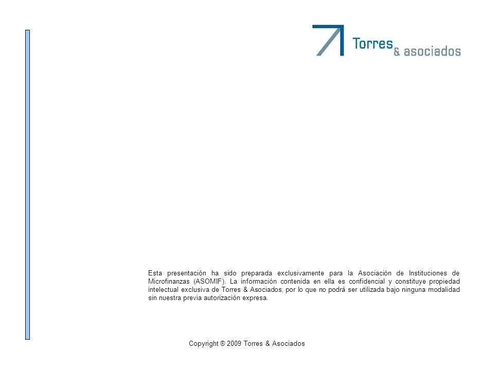 Esta presentación ha sido preparada exclusivamente para la Asociación de Instituciones de Microfinanzas (ASOMIF). La información contenida en ella es