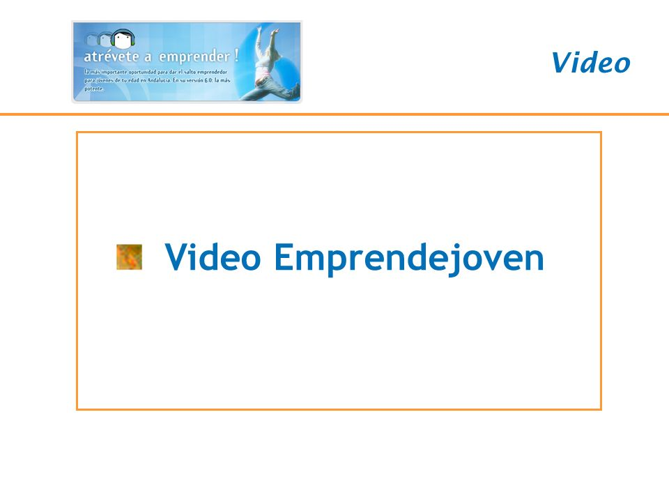 VIDEO Video Video Emprendejoven