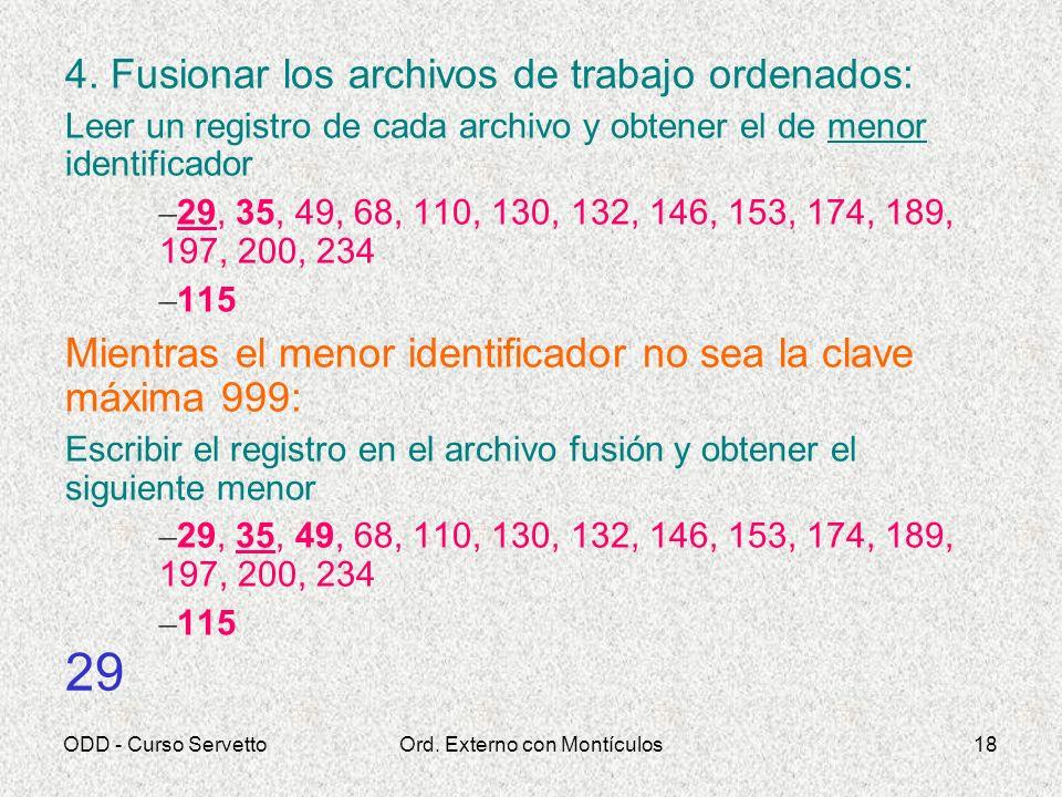 ODD - Curso ServettoOrd. Externo con Montículos18 4.