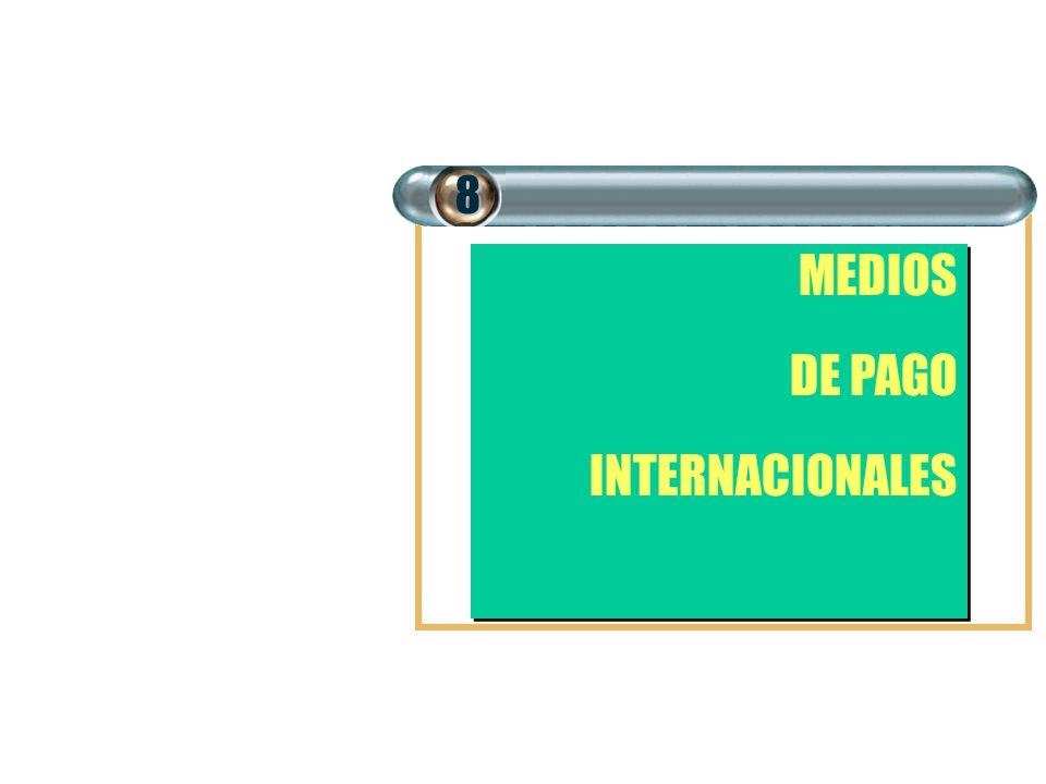 MEDIOS DE PAGO INTERNACIONALES MEDIOS DE PAGO INTERNACIONALES8