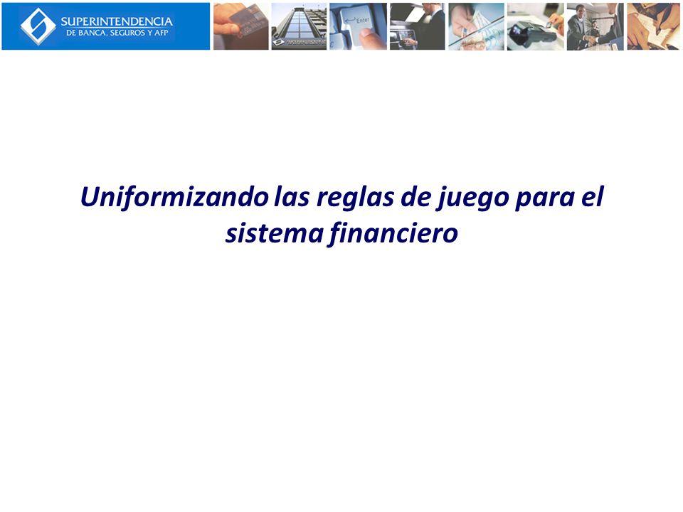 Márgenes de Capital Adicional 1.En el Perú el margen adicional esta en función del tipo de institución (10.5% para banca múltiple, 14% para microfinancieras).
