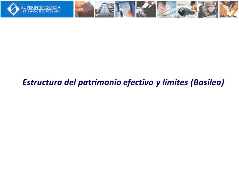 Estructura del patrimonio efectivo y límites (Basilea)