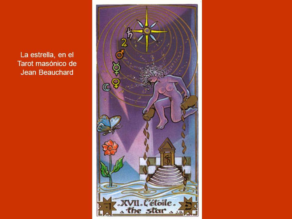 La estrella, en el Tarot masónico de Jean Beauchard