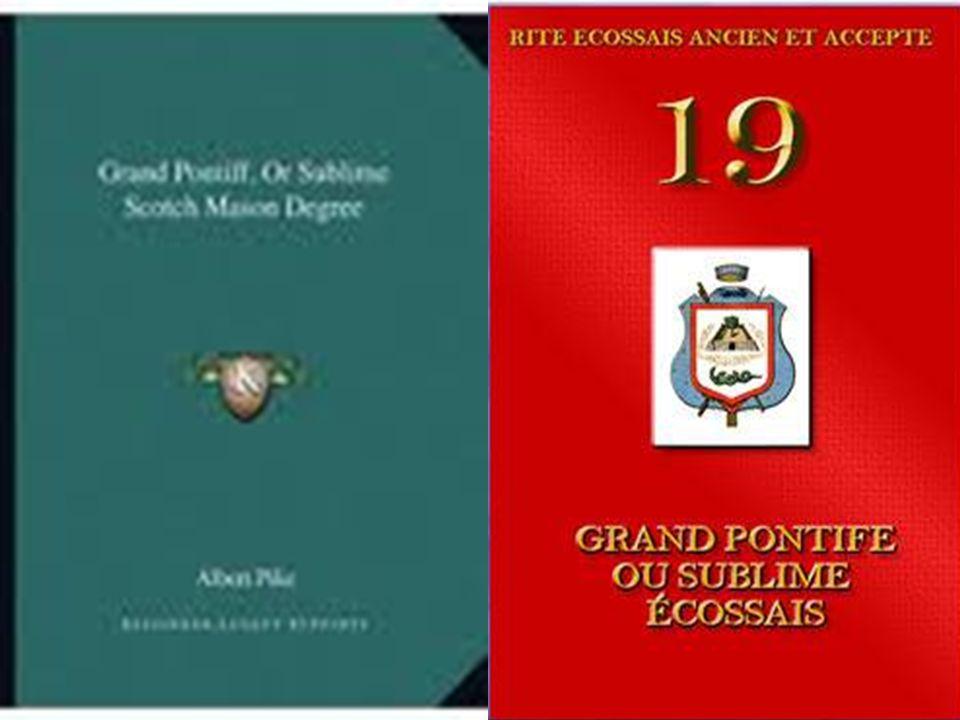 El Gran Pontífice y el Rosa-Cruz En el trabajo principal sobre el grado 19° hemos señalado la estrecha relación que existe entre el mismo y el Rosa-Cruz.