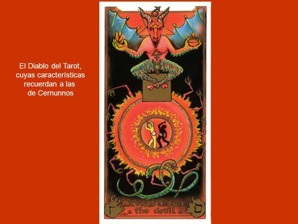 El Diablo del Tarot, cuyas características recuerdan a las de Cernunnos