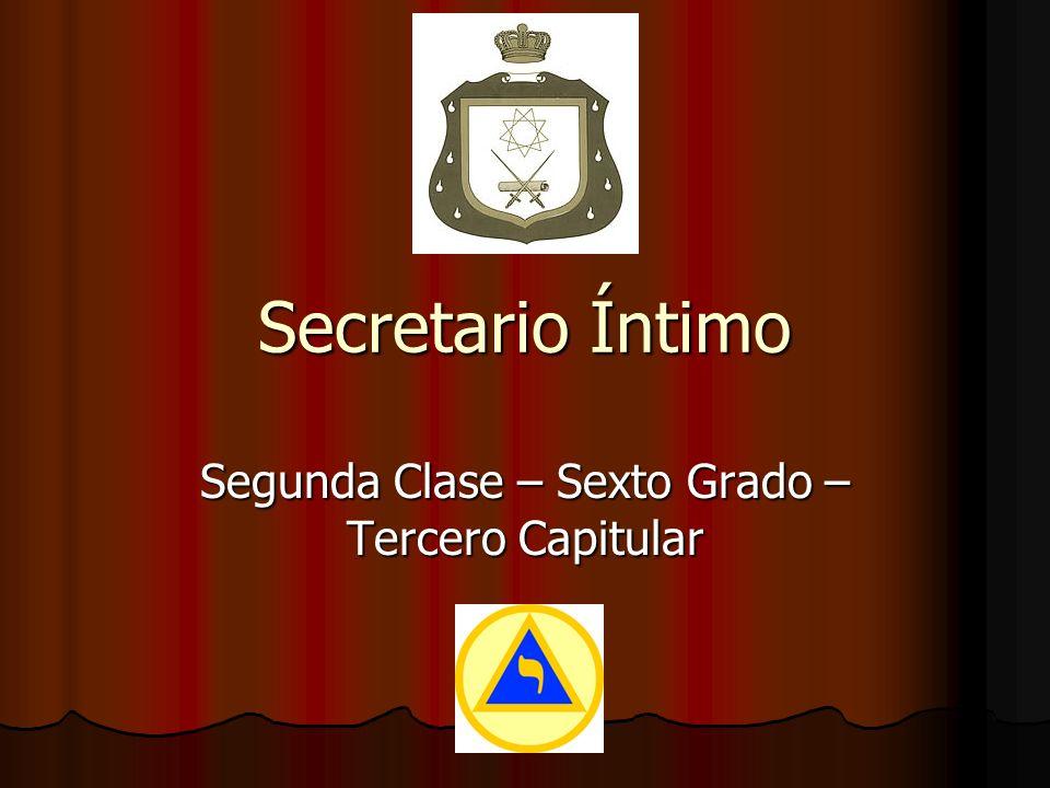 Examen de Reconocimiento P.: ¿Eres Secretario Intimo.