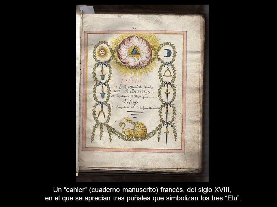 Un Cuadro del Grado 11° de fecha desconocida, pero probablemente del siglo XVIII.