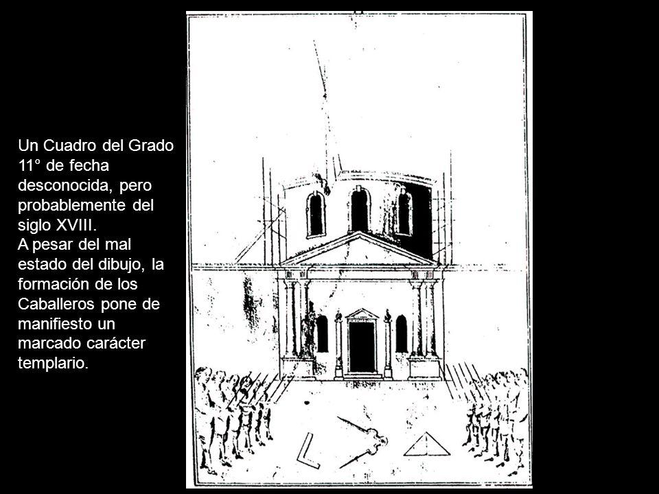 La Cruz del Sublime Caballero Elegido, según aparece en el Manuscrito Francken (siglo XVIII), el único texto donde la hemos encontrado.