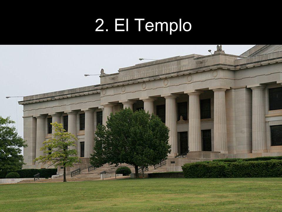 El Templo Representa la Sala de Audiencias del Palacio del Rey Salomón.