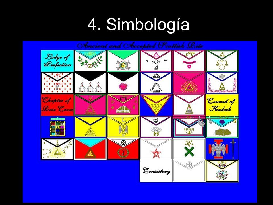 Entre los símbolos principales de este grado se encuentran… El puñal rodeado de 9 llamas, que aparece en algunos mandiles.