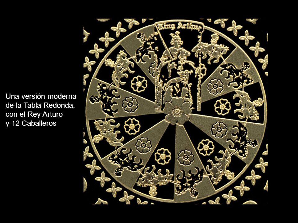 El acto de unir las espadas en círculo, durante el Ritual de Apertura, tiene el mismo sentido mandálico