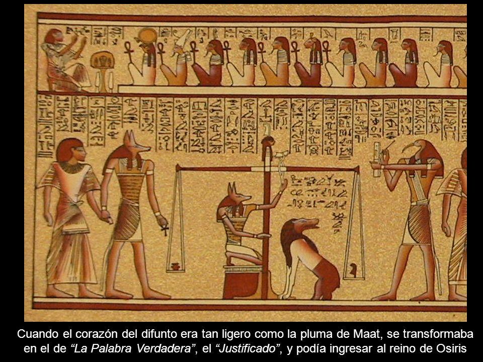 El análisis más simple revela que Ameth=Maat Maat transmitía ideas de equilibrio, de orden cósmico.