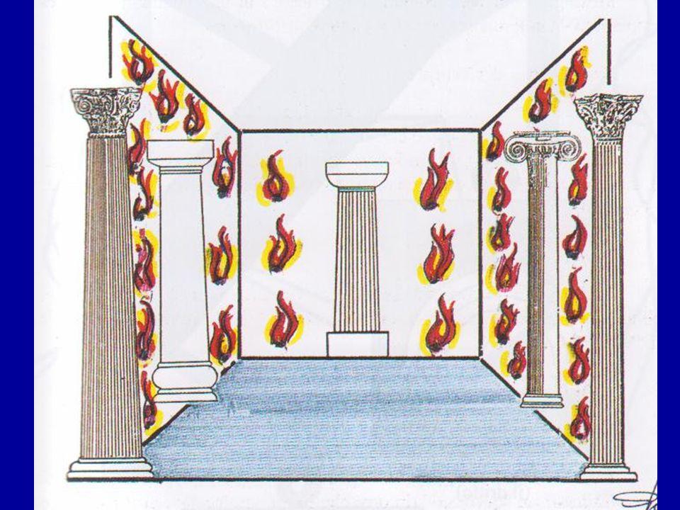 El Templo del grado 12, en una decoración teatral de Minesotta, Estados Unidos