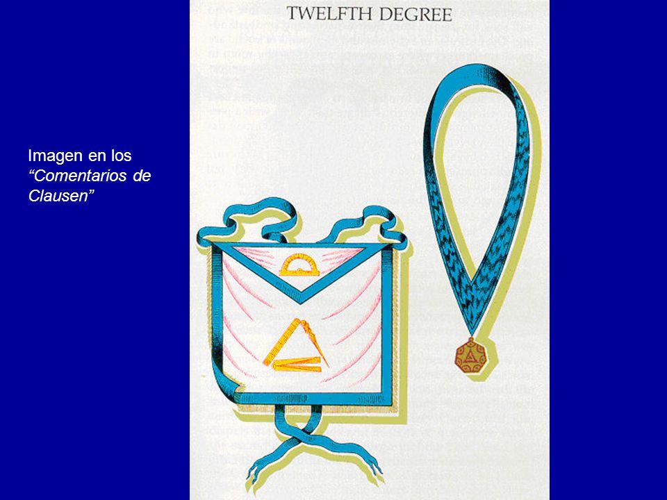 Emblema heráldico del 12º Grado: Gran Maestro Arquitecto