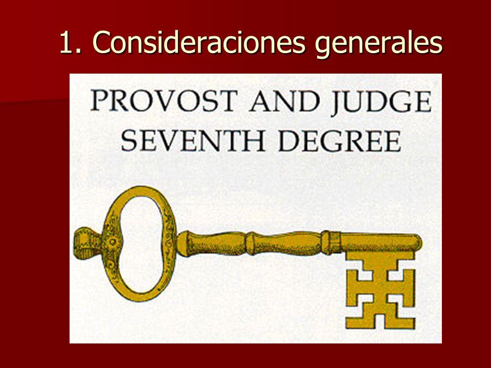 En síntesis: el Preboste y Juez es un grado mutilado y contaminado con influencias jesuíticas.