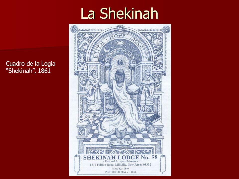 La Shekinah Cuadro de la Logia Shekinah, 1861