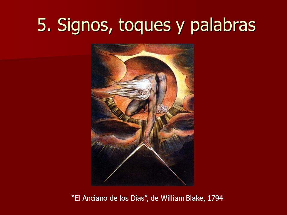 5. Signos, toques y palabras El Anciano de los Días, de William Blake, 1794