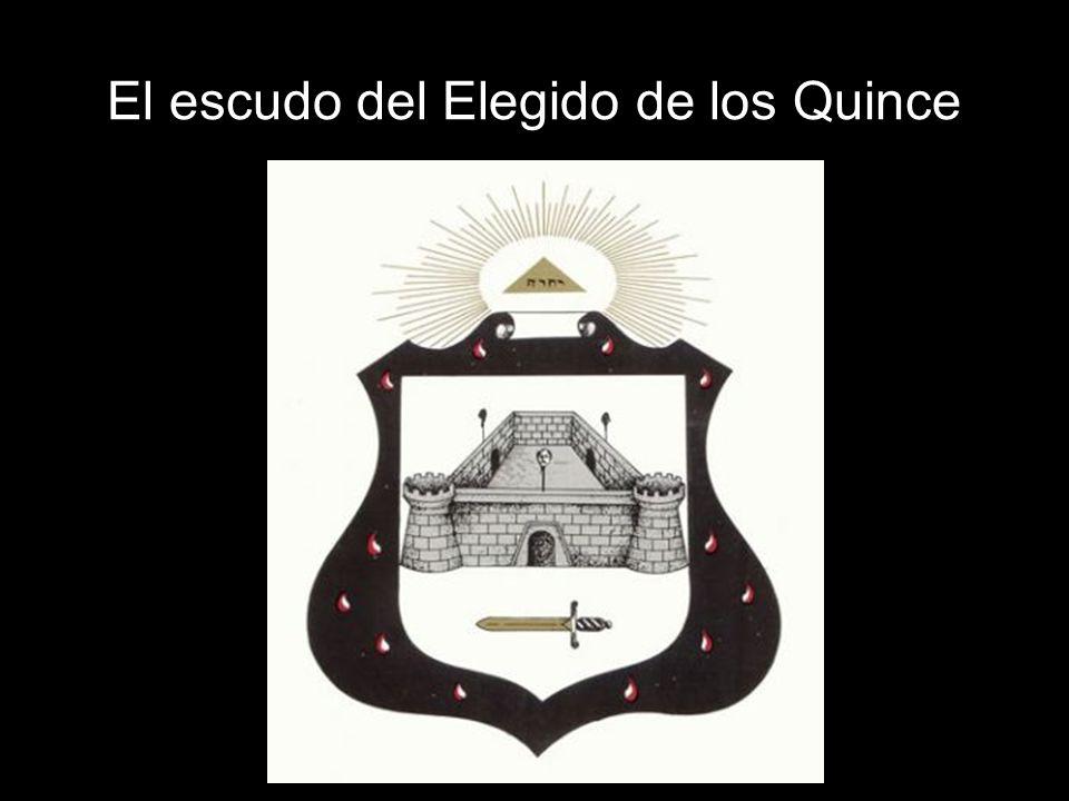 El escudo del Elegido de los Quince