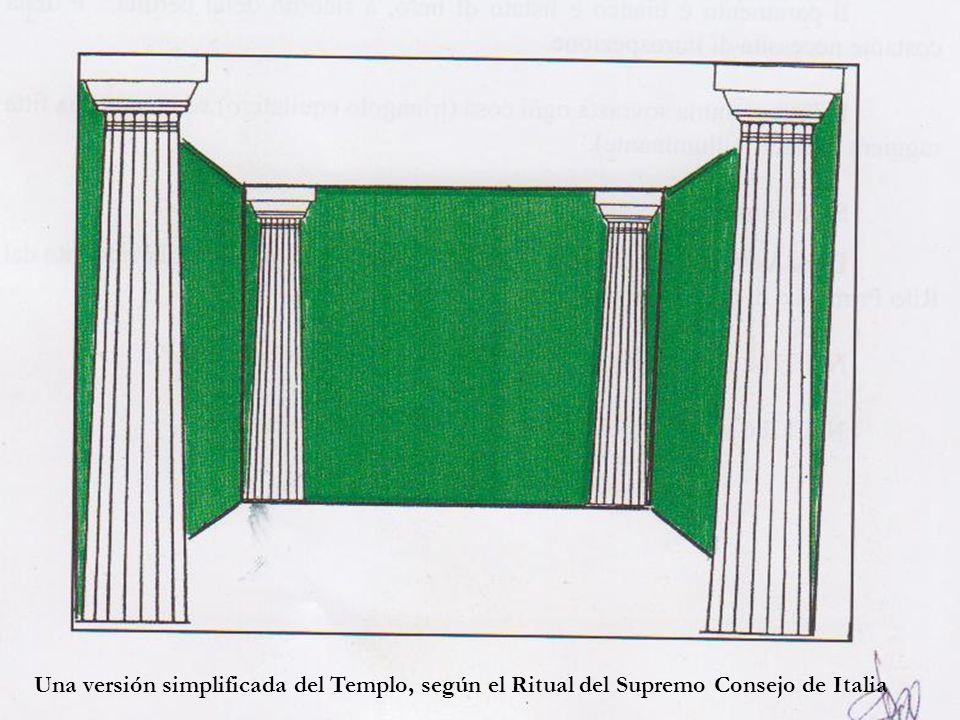 Imagen en la página del «Rito Simbólico Italiano».