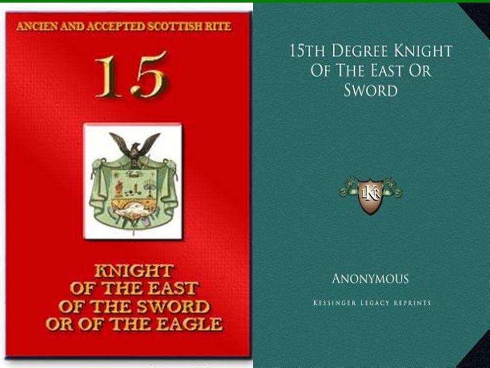 Símbolos diversos del Caballero de Oriente, según Pike