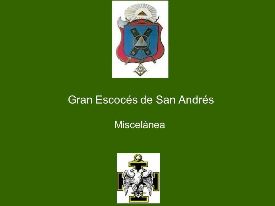 Un esquema del Templo del Gran Escocés de San Andrés