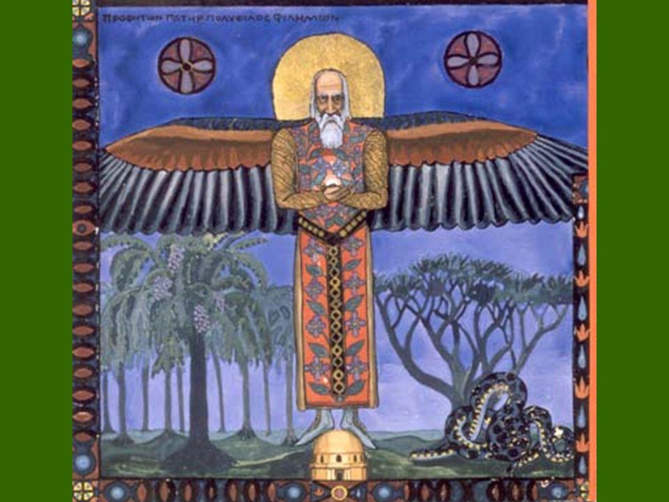 Una representación del Anciano Sabio (Filemón), por C.G. Jung