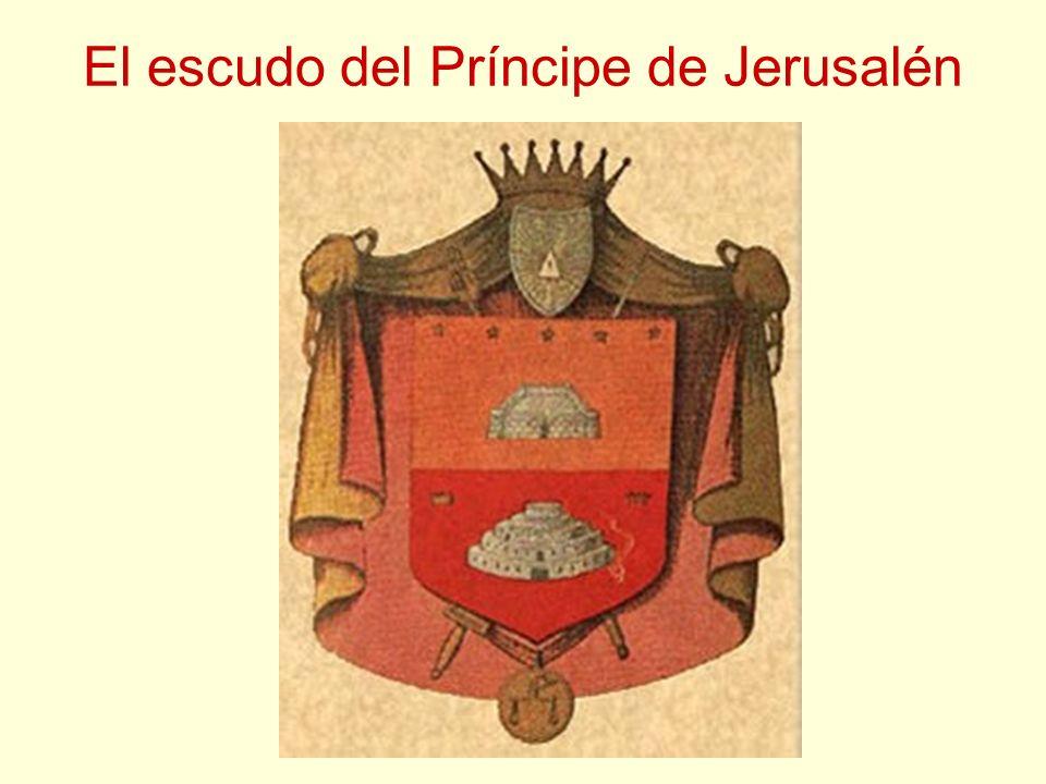 El escudo del Príncipe de Jerusalén