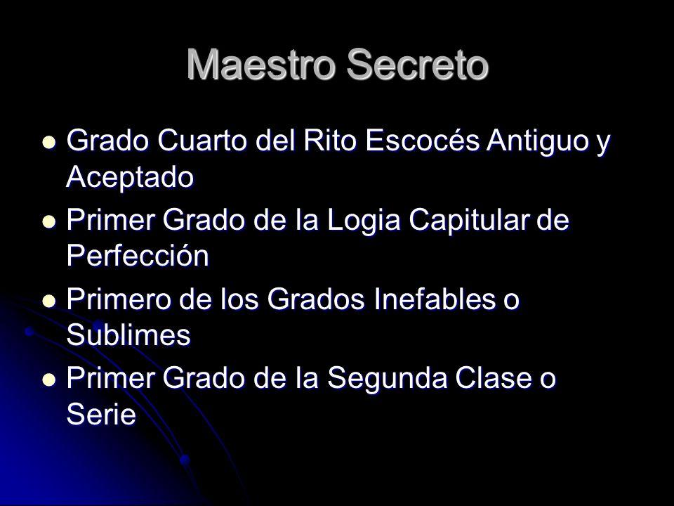 El Maestro Secreto y el Martinismo Existen varios símbolos y conceptos comunes Existen varios símbolos y conceptos comunes Principalmente, la idea de trabajar en forma desconocida, bajo el velo del secreto Principalmente, la idea de trabajar en forma desconocida, bajo el velo del secreto