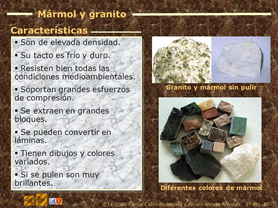 Materiales pétreos Los materiales pétreos se obtienen de las rocas y se utilizan sin transformar para construcción y ornamentación. Se extraen de cant