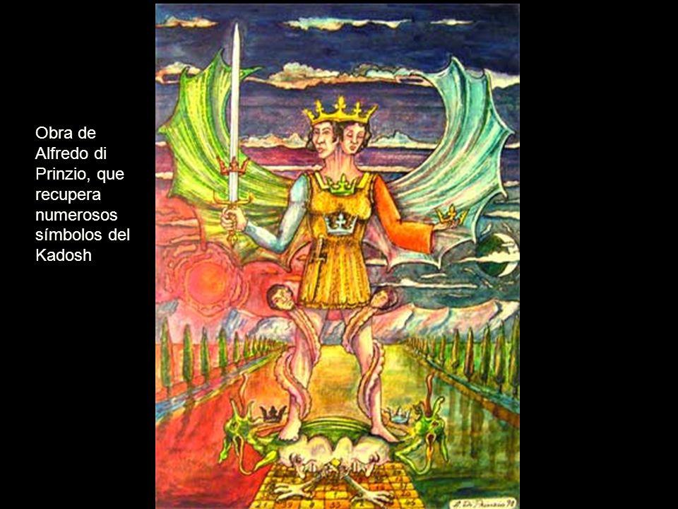 Obra de Alfredo di Prinzio, que recupera numerosos símbolos del Kadosh