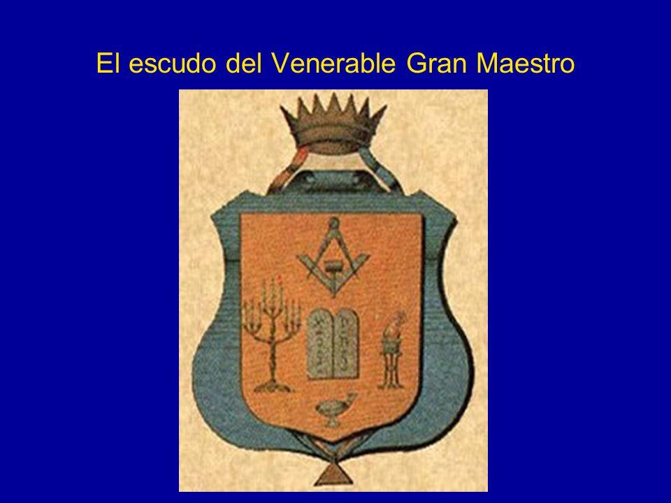 El escudo del Venerable Gran Maestro