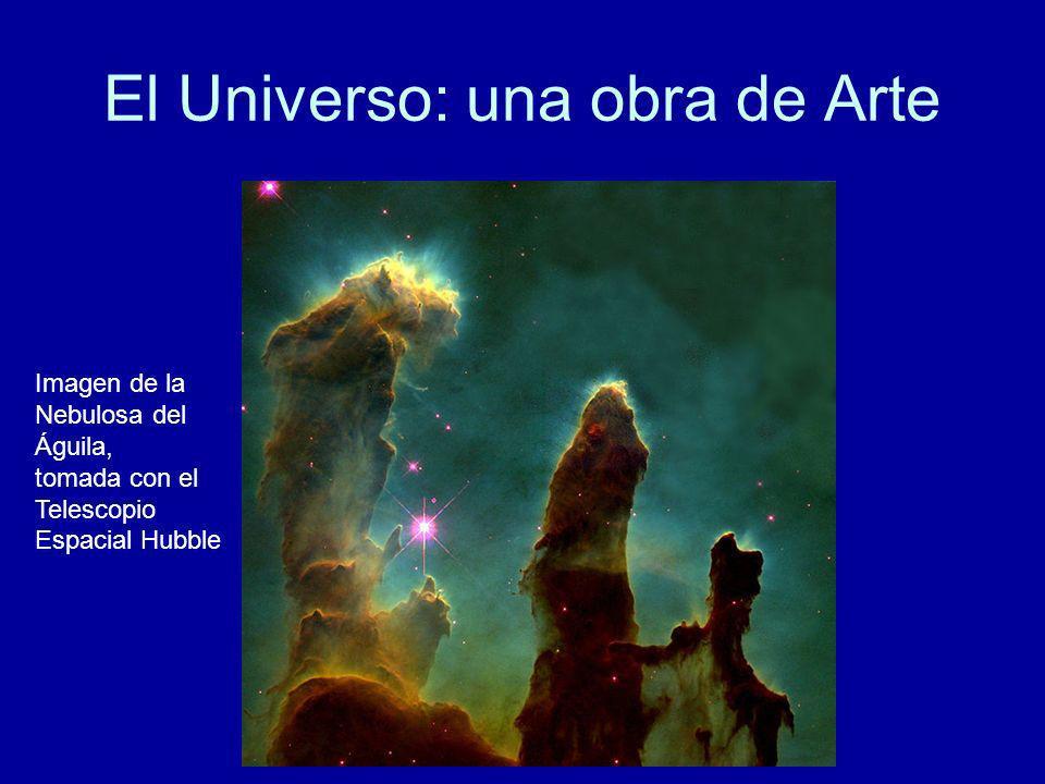 El Universo: una obra de Arte Imagen de la Nebulosa del Águila, tomada con el Telescopio Espacial Hubble