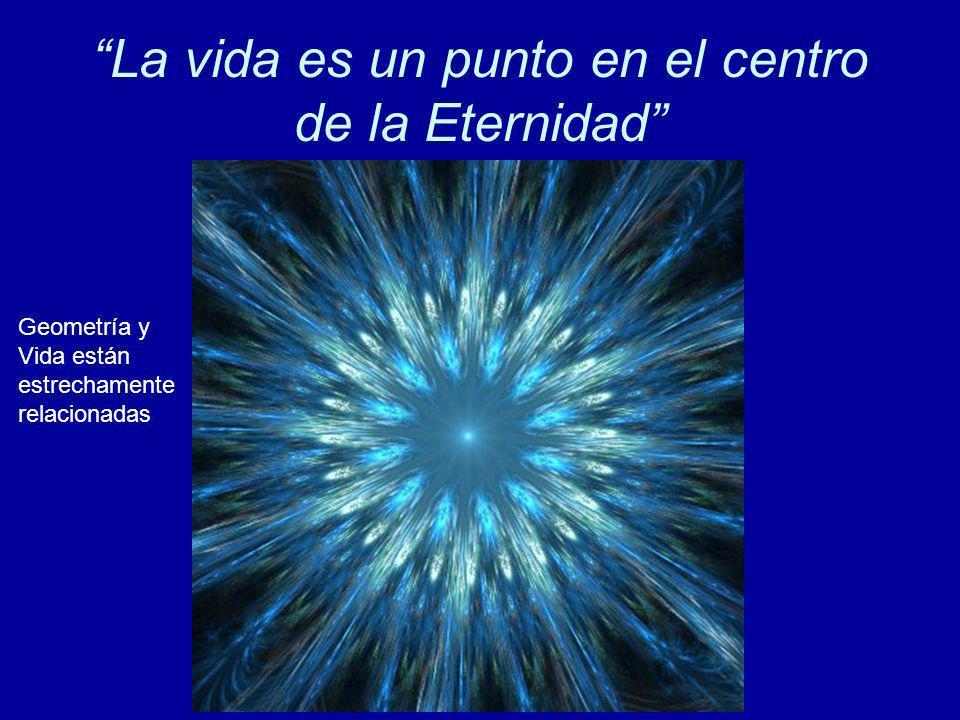 La vida es un punto en el centro de la Eternidad Geometría y Vida están estrechamente relacionadas