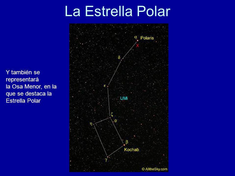 La Estrella Polar Y también se representará la Osa Menor, en la que se destaca la Estrella Polar