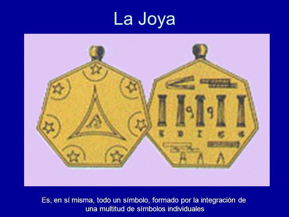 La Joya Es, en sí misma, todo un símbolo, formado por la integración de una multitud de símbolos individuales