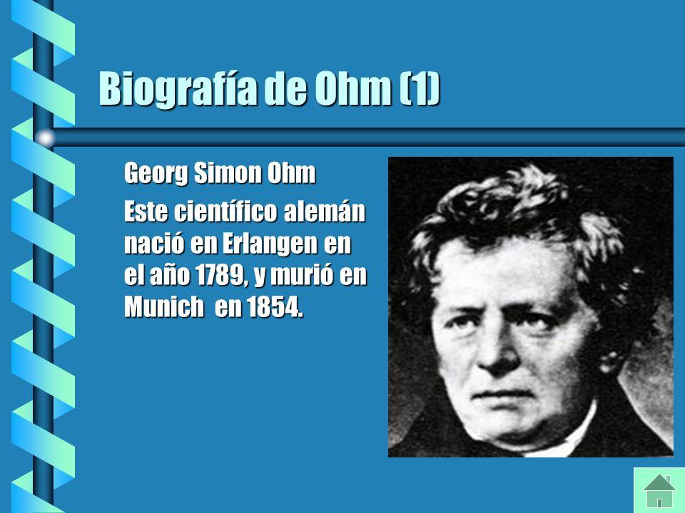 life of georg simon ohm essay