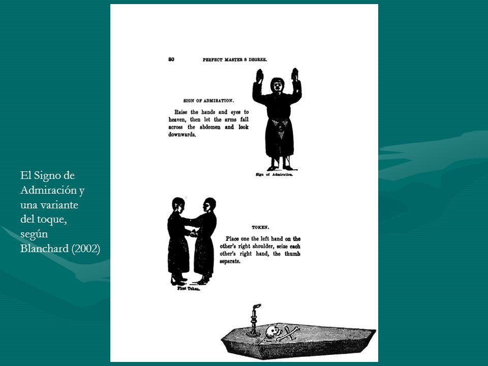 El Signo de Admiración y una variante del toque, según Blanchard (2002)