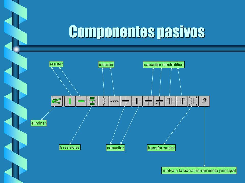 Componentes de entrada