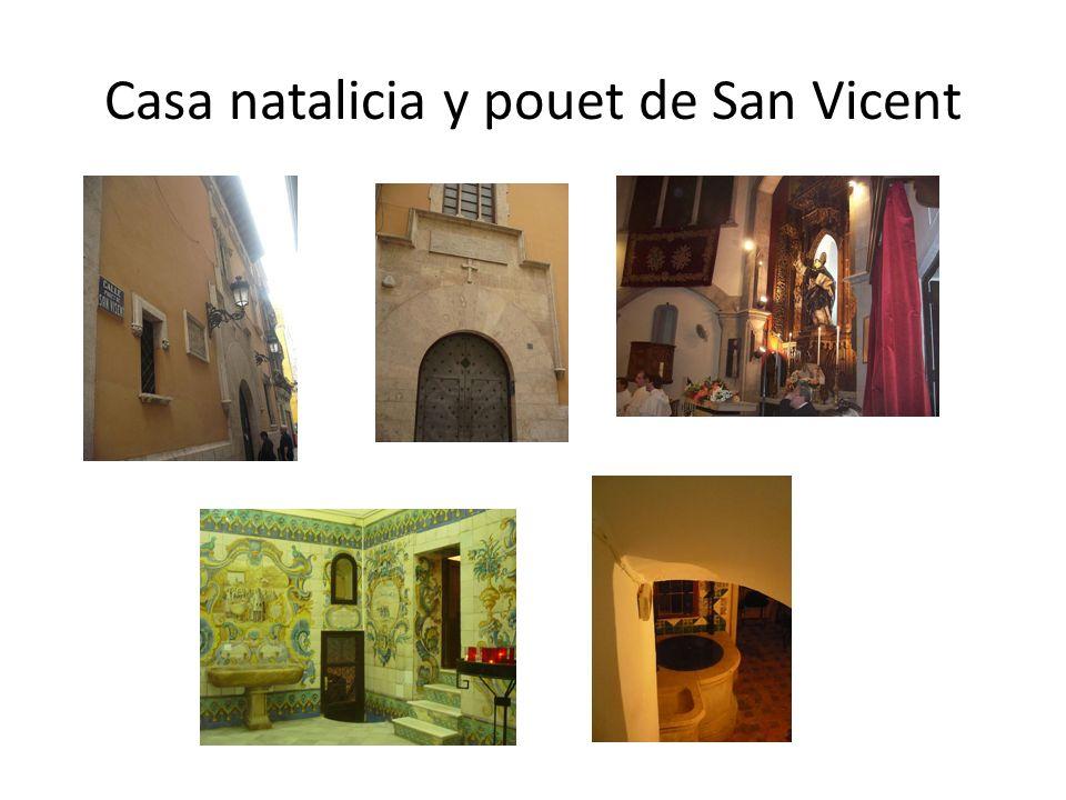 Casa natalicia y pouet de San Vicent