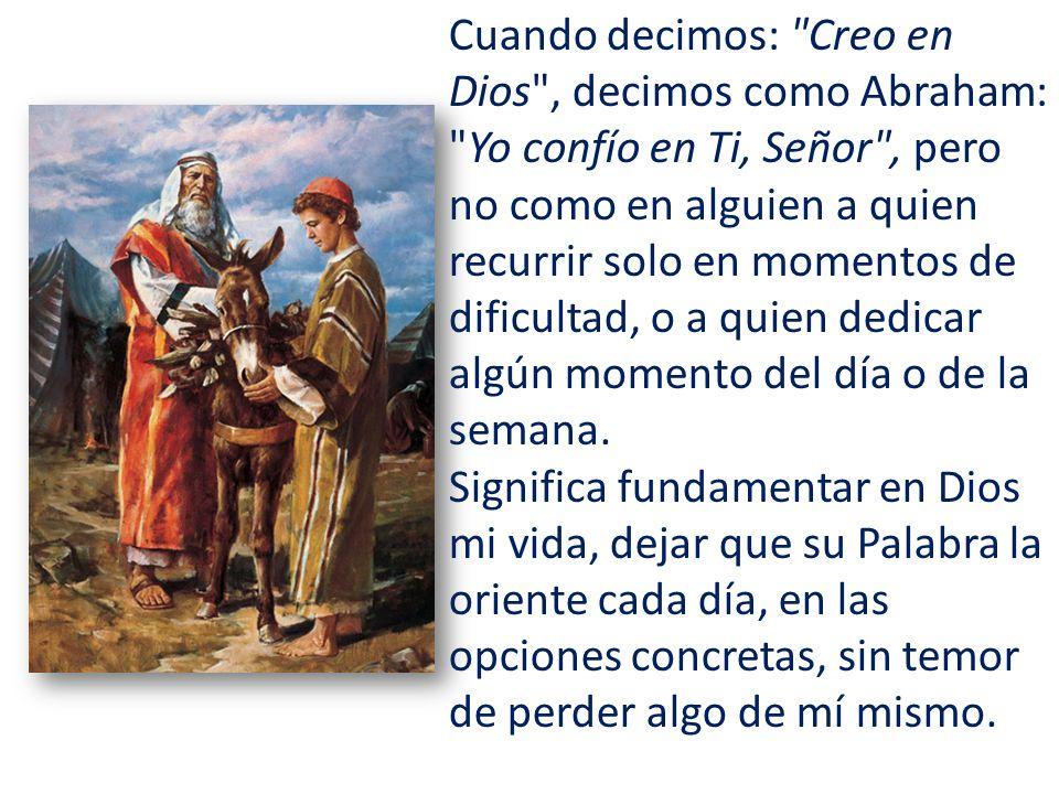 La fe nos hace peregrinos en la tierra, insertados en el mundo y en la historia, pero en camino hacia la patria celestial.