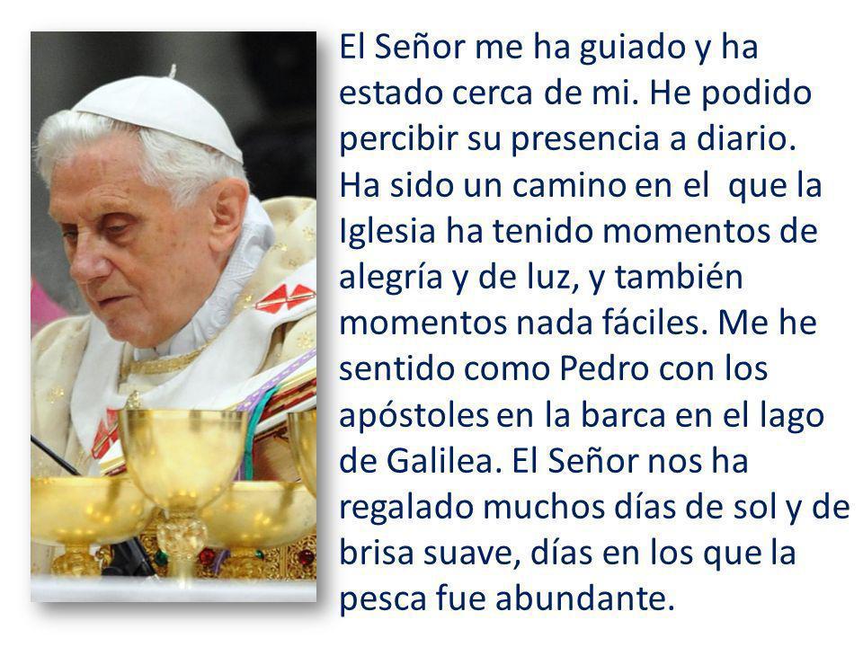 Última Audiencia General del Papa Benedicto XVI Miércoles 27 de febrero de 2013