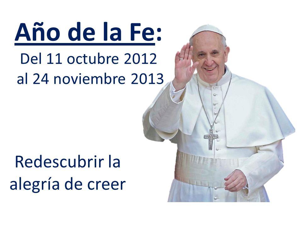 Catequesis del Papa Francisco Audiencia General miércoles 16 de octubre de 2013