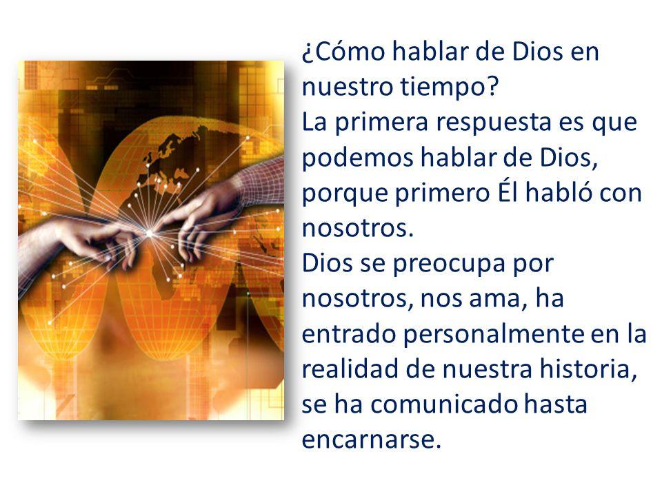 En Jesús de Nazaret encontramos el rostro de Dios, que ha bajado de su cielo para sumergirse en el mundo de los hombres.