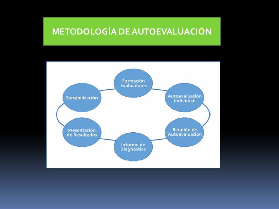 METODOLOGÍA DE AUTOEVALUACIÓN