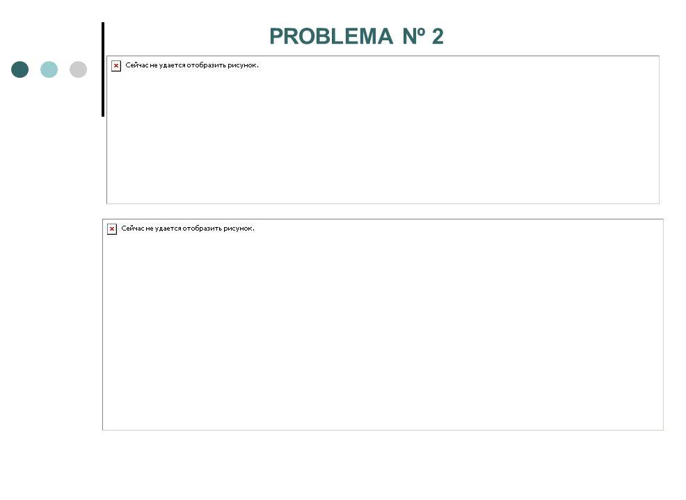 PROBLEMA Nº 2