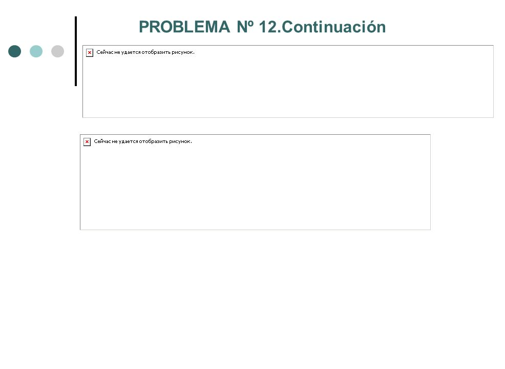 PROBLEMA Nº 12.Continuación