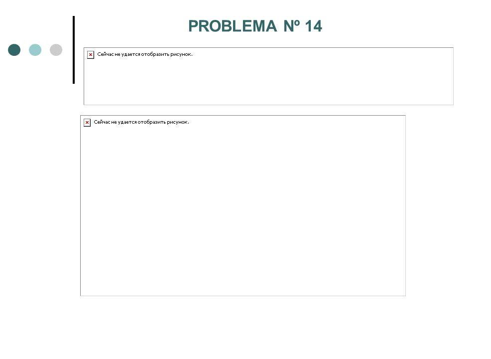 PROBLEMA Nº 14