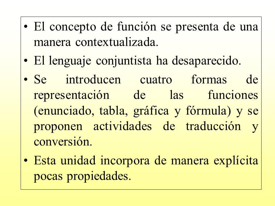 La metodología es la siguiente: a) el profesor propone problemas contextualizados que los alumnos han de intentar resolver (normalmente en grupo).