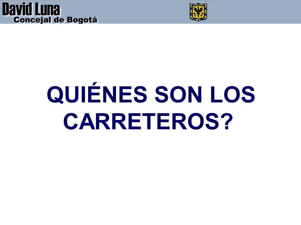 QUIÉNES SON LOS CARRETEROS?